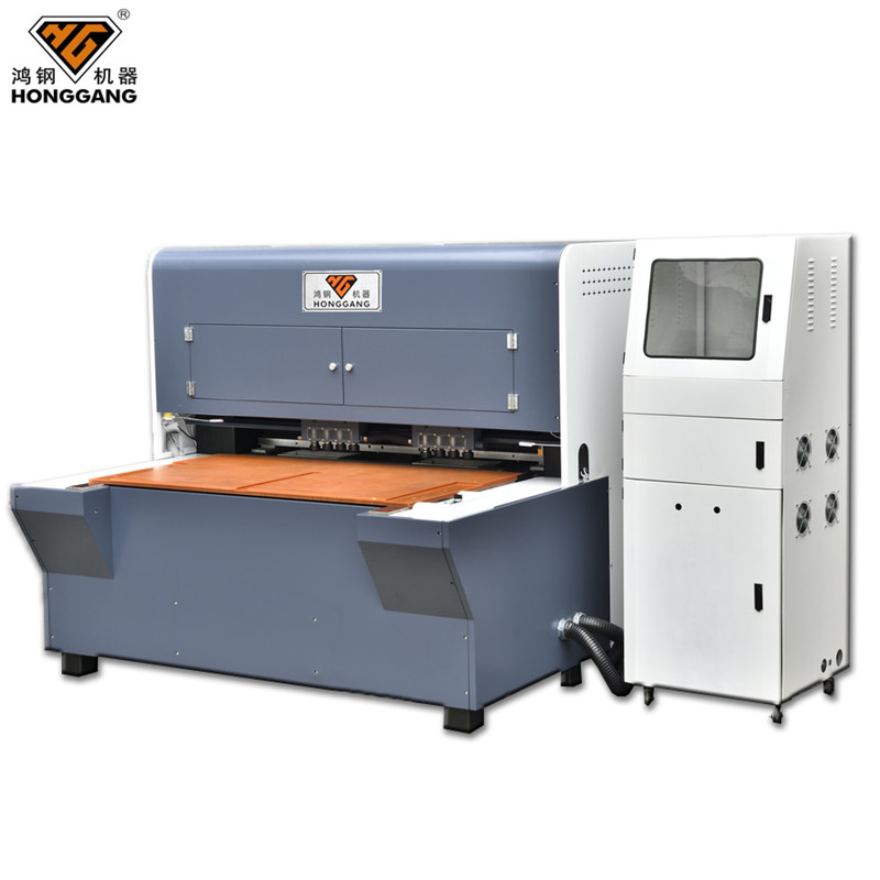 CNC power press punching machine for leather
