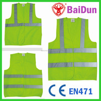 CE EN471 high visibility reflective vest cheap china reflective safety vest clothing safety