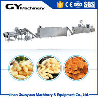 snack crackers machines, corn flour puff snack machine