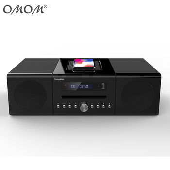 OM-1720W 2018 Wireless Charge Mirco CD Speaker Wireless Induction Speaker