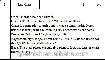 Lab furniture ,cheap lab chair