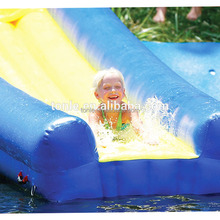 customized giant inflatable Turbo Chute Water Slide/ inflatable slip n slide for sale