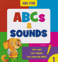 Funny learn ABC for children english talking pen sound book