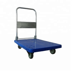 hot sale platform hand truck Storage Hand Push Cart Platform Truck/hand Cart/folding portable platform hand truck warehouse