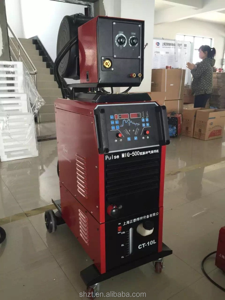 Multi Synergic double pulse mig welder for aluminum