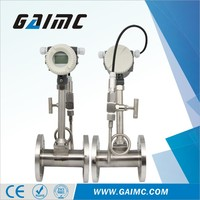 High accuracy vortex natural gas flow meter