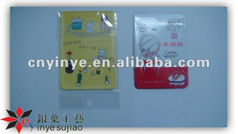 Attracting Picture ID Card Holder/Pvc Card Holder