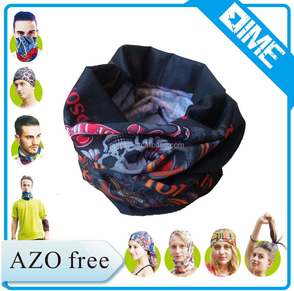 Custom Printing Multifunctional Muslim Sports Bandana Headwear