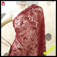 coral flower embroidered garments making african swiss voile lace fabric