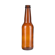 Best quality eco-friendly 330ml amber beer glass bottle