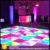 China supplier disco Light White Acrylic 4 digital led display led portable dance floor