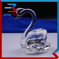 Crystal Glass Swan Animals Wedding Table Decoration Guests Souvenirs Party Gifts