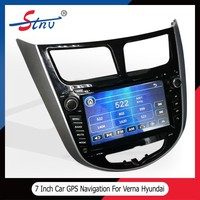 7 inch quad-core gps tracker with audio system for car Hyundai Verna
