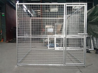 lowes price cheap chain link dog kennels