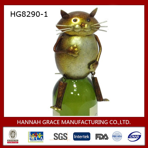 Cat Personalize Metal Wine Stopper