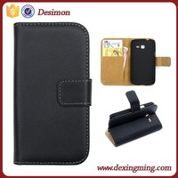 Leather Flip Case Cover Wallet For Samsung Galaxy Trend Lite S7390