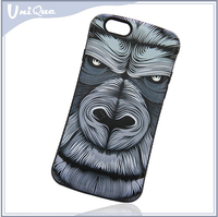 Mobile accessories wholesale fashionable 3D phone case innovative back cover for iphone 6 plus