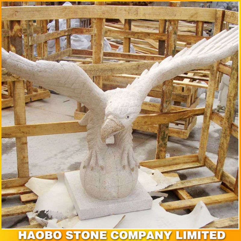 Various Eagle Stone Sculpture