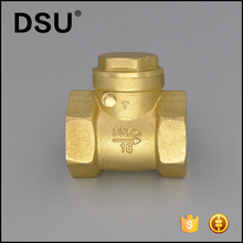 "1/2""-5"" Non-return brass swing check valve"