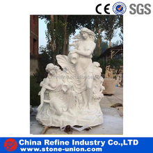 Maiden water bearer outdoor garden angel statue