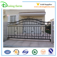 High quality Powder coating small iron gate for sale