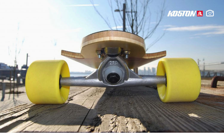 KOSTON High Precision Aluminium Brand Custom Longboard Trucks in 7inch 180mm Hanger