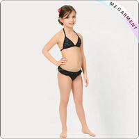 open micro kids beachwear swimwear bikini brazil