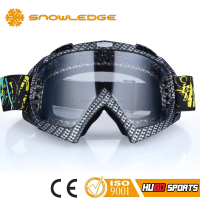 Water Transfer Painted Frame Motorcycle Glasses Special Motocross Eyewear for Helmet HB-157
