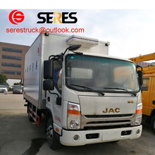 Dongfeng 170hp 8ton refrigerator van truck used for sale