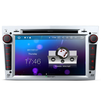 EONON GA8155 for Opel /Vauxhall /Holden Android 7.1 2GB RAM 7 inch Multimedia Car DVD GPS (Silver)