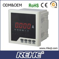 Single-phase Types of Electricity Meters AC/DC RH-AA31 Ampere Meter