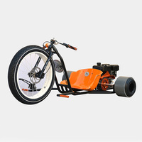 3 big wheel drift trike bike