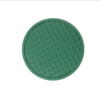 Hot Selling Silicone Rubber Wine Drink Coaster Glass