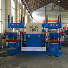 High efficience double flat rubber vulcanizing machine and rubber o-ring making molding machine