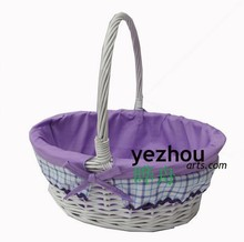 Cheap Easter Wicker Basket