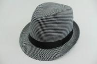 Gentlemen High Quality Cap Felt Available Fedora Hats Custom Made In China
