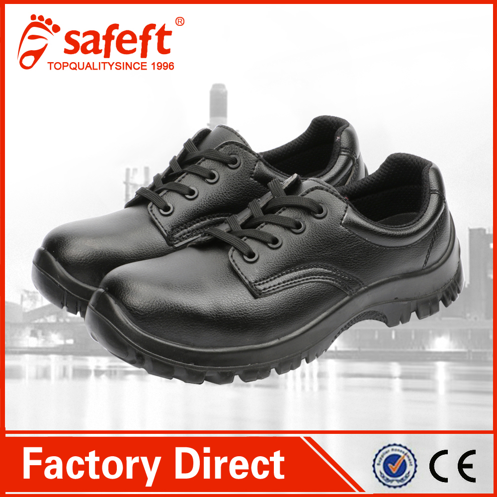 High quality black chef safety shoes