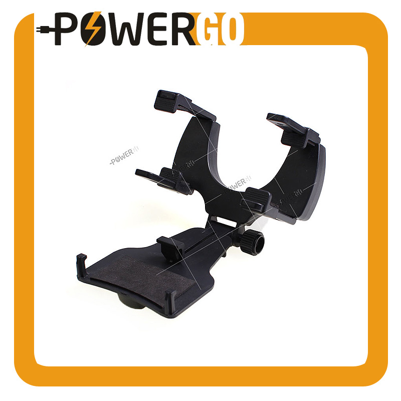 Car Mount / Car Rearview Mirror Mount Truck Auto Bracket Mobile Phone Holder Cradle for iPhone 7/6/6s plus, Samsung, GPS / PDA