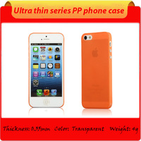 ultra-slim PP case for iphone MINI with various colors ,for 5/5S phone case
