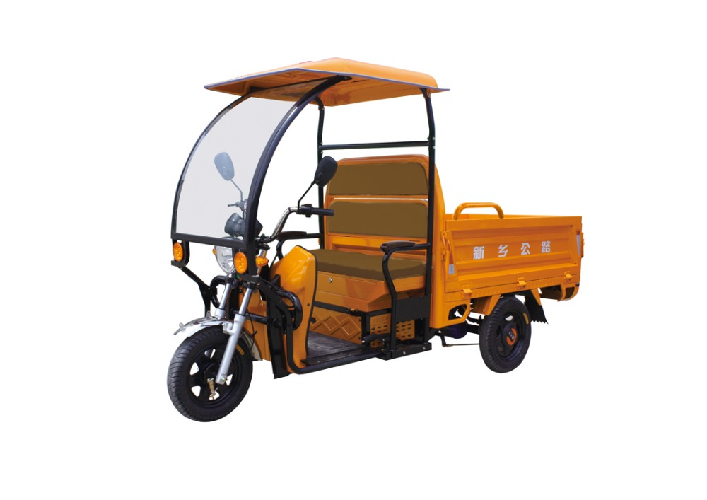 China hot sale delivery adult tricycle with shed / three wheel cargo motorcycle india