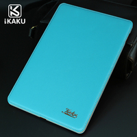 Kaku brand big recommendation wholesale genuine leather tablet case for samsung galaxy note 10.1 tablet cover