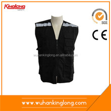 100% polyester 130gsm nice design safety fly fishing vest