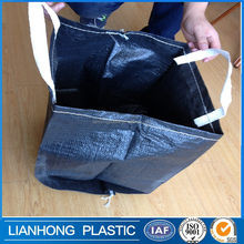 Heavy Duty Biodegradable Large black plant/garbage plastic bag from China manufacturer