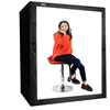 Hot sell Deep Professional Photography Studio Set Led light box photography 160cm photo studio photo box