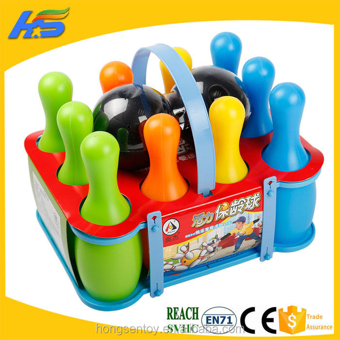 Bowling Ball Children's Educational Toys Sports Toys Baby Indoor Exercise Portable Bowling