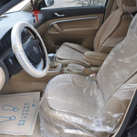 disposable clear plastic car seat covers