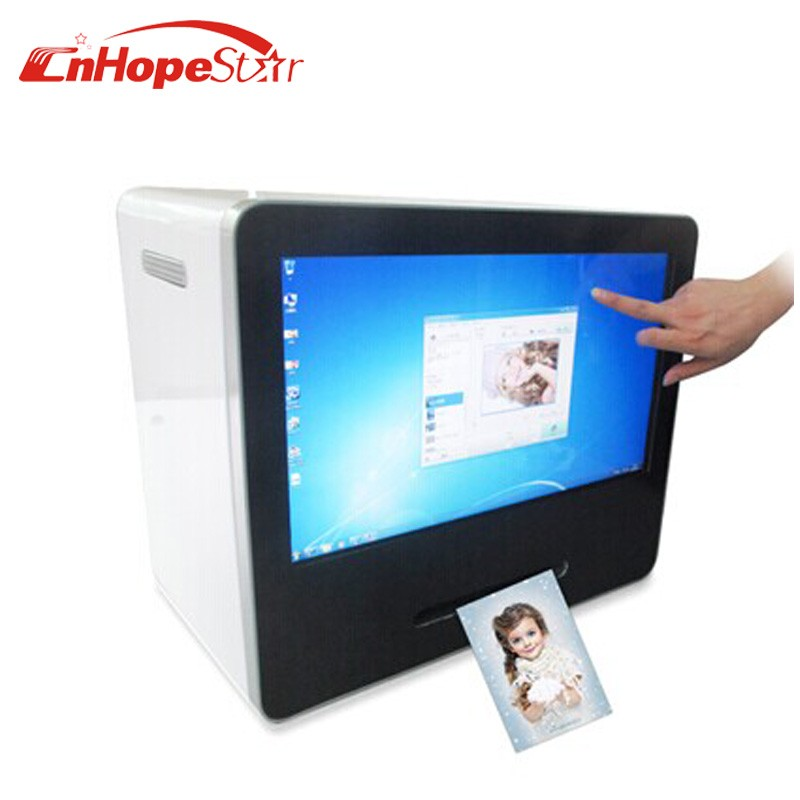21.5 inch Touch Screen Wechat Photo Printer