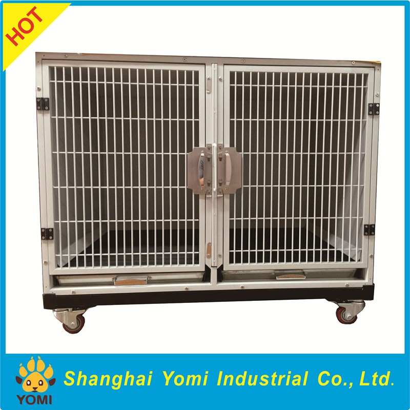 2016 Cheap large iron metal dog kennels