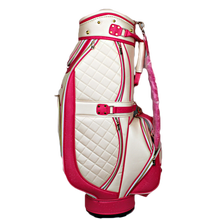 New arrival outdoor sports pu custom golf bags