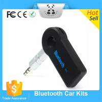 Newest Wholesale Bluetooth car aux in adapter bluetooth handsfree car kit for sale 2 in 1 bluetooth audio transmitter receiver